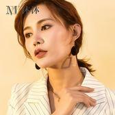 女氣質韓國個性吊墜百搭2018新款耳墜