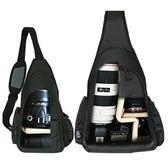攝影包 寶羅攝影包簡約單肩小單反相機包斜跨包男女750d三角戶外背包 創想數位