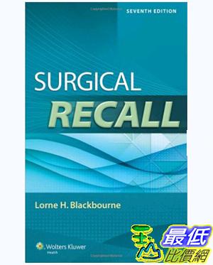[106美國暢銷醫學書籍] Surgical Recall (Recall Series) 7th Edition