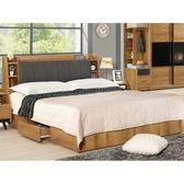 床架 MK-507-2 摩德納5尺被櫥式雙人床 (床頭+床底)(不含床墊) 【大眾家居舘】