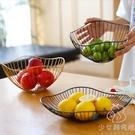 鐵藝水果盤茶幾零食盤北歐輕奢簡約家用客廳...