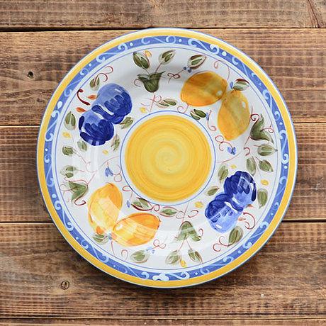 |手繪陶瓷|9.3寸平盤|盤子|