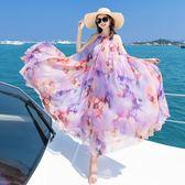 洋裝 沙灘裙中長款裙子泰國民族風波西米亞長裙連身裙
