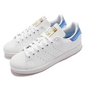 adidas 休閒鞋 Stan Smith W 白 藍 經典 小白鞋 愛迪達 三葉草 女鞋 【ACS】 H05054