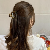 清新日系少女醋酸板材發夾后腦勺韓國簡約抓夾氣質冷淡風夾子頭飾 極簡雜貨