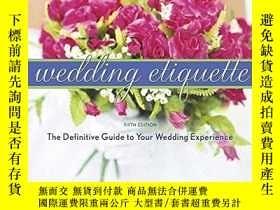 二手書博民逛書店Emily罕見Post s Wedding Etiquette, 5eY255562 Post, Peggy
