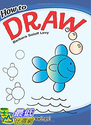 [8美國直購] 美國暢銷書 How to Draw (Dover How to Draw) Paperback – February 19, 2009