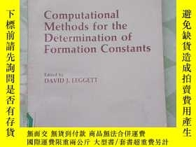 二手書博民逛書店(英文原版)Computational罕見Methods for the Determination of For