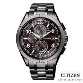 CITIZEN 星辰(AT8166-59E) 光動能 電波錶 鈦金屬 防水 男錶/41.5mm