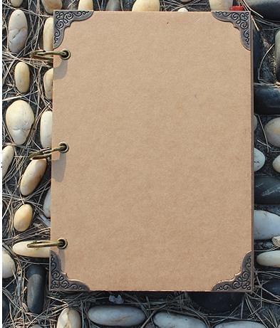 14.8*21公分手寫菜譜本紙牛皮紙手繪菜單本制作設計活頁價目表酒水單定制點菜