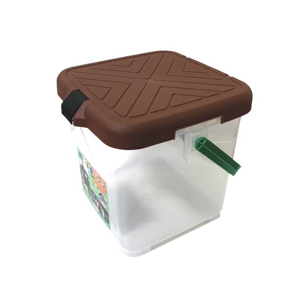 【台灣製 月光寶盒RV多功能桶《巧克力》】P888T/可承重/置物桶/洗車桶/收納桶/萬用桶