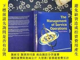 二手書博民逛書店THE罕見Management of Service Opera