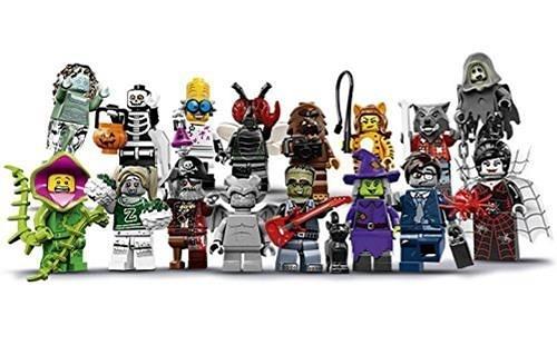 【美國代購】樂高怪獸系列14人仔 - 全套16人一套 (71010) 萬聖節