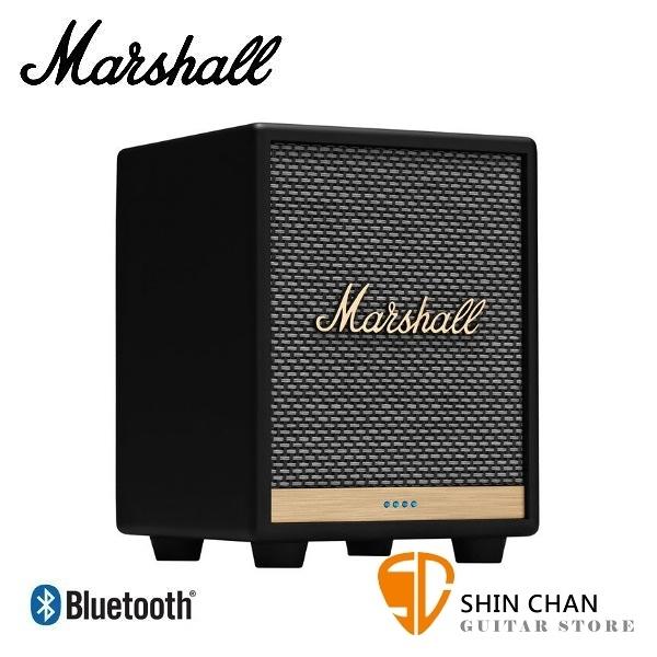 【缺貨】Marshall Uxbridge Voice 藍牙喇叭 經典黑色 智慧喇叭 / Google 助理 支援 藍牙 Airplay2 / Spotify Connec