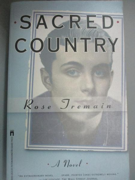 【書寶二手書T4/原文小說_CVT】Sacred Country: A Novel_Tremain, Rose
