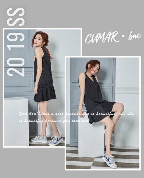 【CUMAR】悠遊輕井澤-印花刺繡綁帶休閒鞋(銀色)