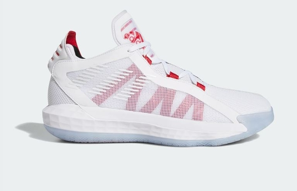 Adidas Dame 6 GCA男款黑白多色系籃球鞋-NO.EF2504