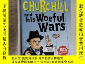 二手書博民逛書店Churchill罕見and his wonderful war