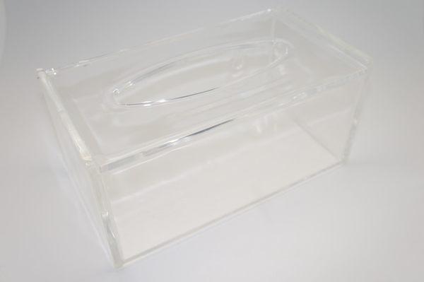 抽取式壓克力兩用水晶透明面紙盒