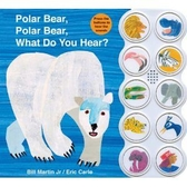 Polar Bear,Polar Bear,What Do You Hear 艾瑞卡爾聲音書(美國版)