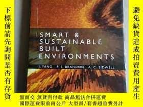 二手書博民逛書店smart罕見& sustainable built envir