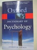 【書寶二手書T2/大學理工醫_DAC】A Dictionary of Psychology_Colman, Andrew M.