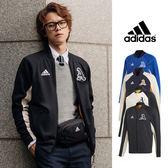 【GT】Adidas VRCT 黑白藍 外套 夾克 運動 休閒 棒外 立領 愛迪達 棒球外套 展榮展瑞 宇宙人 HowHow