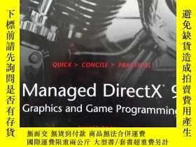 二手書博民逛書店Managed罕見DirectX 9 graphics and game programmingY368127