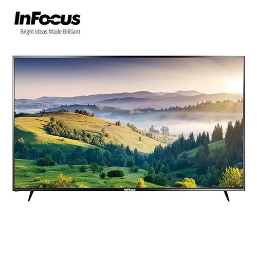 [InFocus 富可視]60吋4K智慧連網液晶顯示器 WT-60CA612