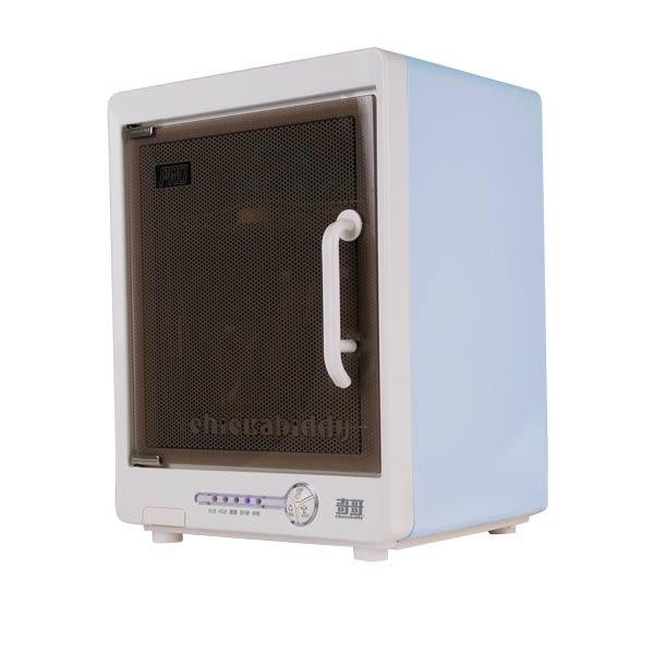 【奇哥】全自動紫外線消毒烘乾機(贈嬰兒奶瓶清潔液X1+PUP寬口玻璃奶瓶2支120ml)