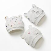 嬰兒帽子 嬰幼兒春 初生寶寶夏 薄款0-3個月純棉胎帽 麥琪