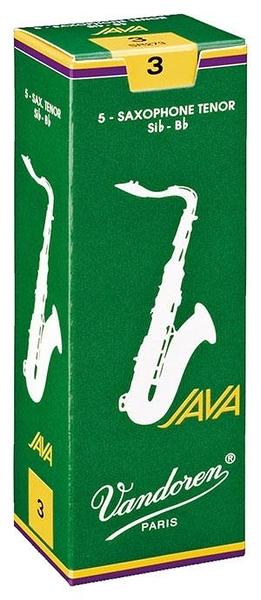 凱傑樂器 Vandoren Java Green Tenor Reeds  綠盒 次中音 竹片 2號