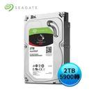 (2入)Seagate IronWolf 那嘶狼 2TB 3.5吋 NAS專用硬碟 (ST2000VN004)