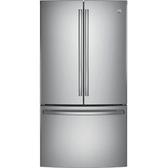 【得意家電】美國 GE 奇異 GNE29GSSS 法式三門冰箱(810L) ※熱線07-7428010