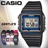 CASIO手錶專賣店 卡西歐 W-215H-8A 數字錶 深灰 中性錶 方形 防水50米 LED背光照明 膠質錶帶