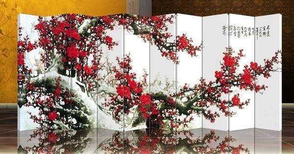 十扇屏風 家具 隔間-中式居家開運風水A02