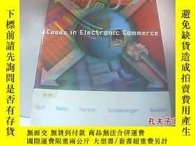 二手書博民逛書店Cases罕見in Electronic Commerce在電子