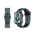 蘋果錶帶 適用蘋果手表applewatch硅膠表帶 iwatch1/2/3/4/5代耐克運動型回環式原裝時尚男女新款 米家