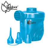 【Outdoorbase】抽/吸兩用颶風充氣幫浦-藍28262