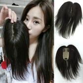 100%真髮 加長型頭頂髮片微增髮 立體髮根 可分髮線 手工織透氣輕薄自然 13DL 魔髮樂Mofalove