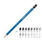 《享亮商城》MS100-6H 頂級藍桿繪圖鉛筆 施得樓