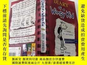 二手書博民逛書店DIARY罕見of a Wimpy Kid 一個懦弱的孩子的日記.Y212829