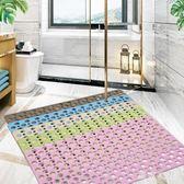 浴室防滑墊淋浴鏤空家用洗澡腳墊廁所衛浴墊子防水防霉衛生間地墊 QG2800『東京衣社』