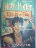 【書寶二手書T8/原文小說_KJW】Harry Potter and the Goblet of Fire_Rowlin