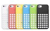 【原廠】iPhone 5C保護套 洞洞保護殼 現貨 黑/藍/粉/黃 ★№101購物網★