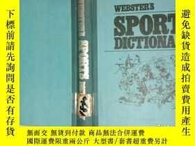 二手書博民逛書店WEBSTER'S罕見SPORTS DICTIONARY Y12