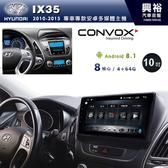 【CONVOX】2010~15年Hyundai IX35專用10吋螢幕安卓主機*聲控+藍芽+導航+安卓*8核心