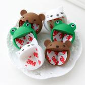 兒童安全 可愛動物嬰兒防撞桌角墊 單入裝 寶寶防撞角 桌角保護套 青蛙 貓咪 小熊