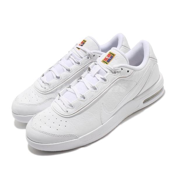 Nike 網球鞋 Air Max Vapor Wing PRM 白 黃 男鞋 氣墊設計 運動鞋 【ACS】 CT3890-100