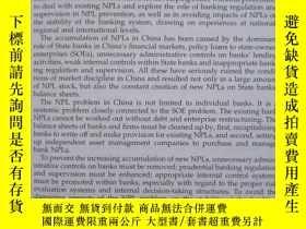 二手書博民逛書店Troubled罕見Bank Loans China s: W
